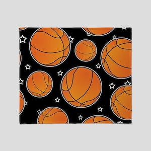 Basketball Star Pattern Throw Blanket