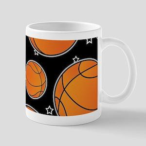 Basketball Star Pattern Mugs