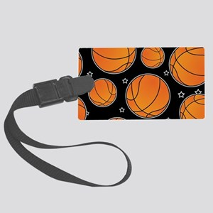 Basketball Star Pattern Luggage Tag