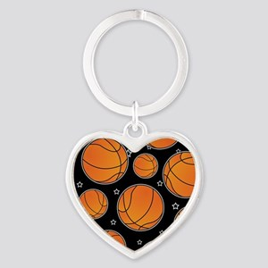 Basketball Star Pattern Keychains