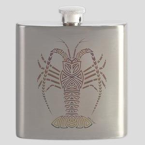 Tribal Caribbean Lobster Flask