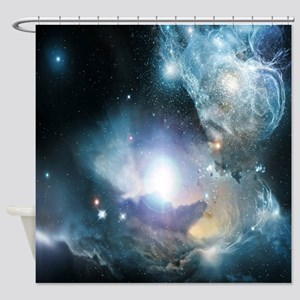 Beginning Of The Universe Shower Curtain