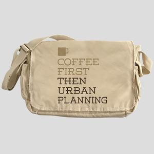 Coffee Then Urban Planning Messenger Bag