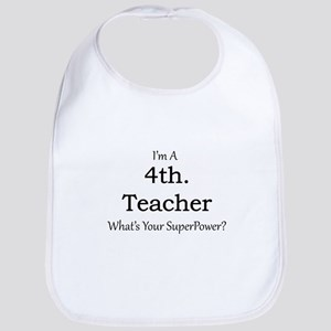 4th. Grade Teacher Bib