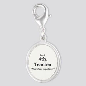 4th. Grade Teacher Charms