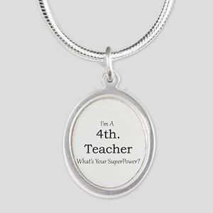 4th. Grade Teacher Necklaces
