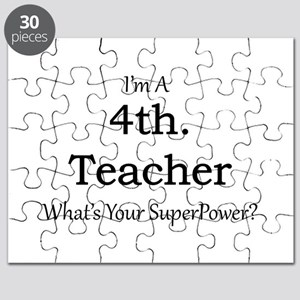 4th. Grade Teacher Puzzle