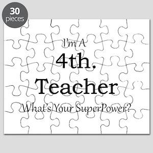 4th. Grade Teacher Puzzle