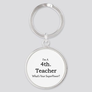 4th. Grade Teacher Keychains