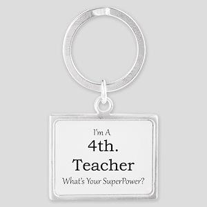 4th. Grade Teacher Keychains