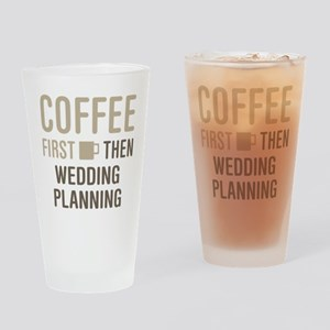 Wedding Planning Drinking Glass