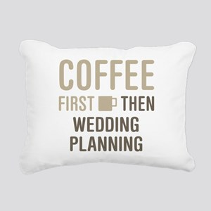 Wedding Planning Rectangular Canvas Pillow