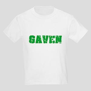 Gaven Name Weathered Green Design T-Shirt