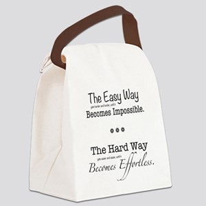 The Easy Way Canvas Lunch Bag