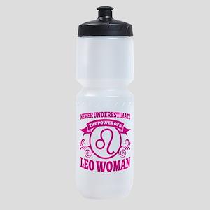 Leo Woman Sports Bottle