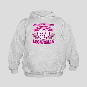 Leo Woman Kids Hoodie