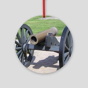 cannon Round Ornament