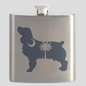 SC Boykin Spaniel Flask