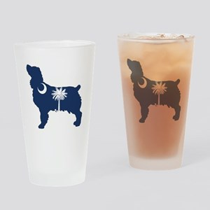 SC Boykin Spaniel Drinking Glass