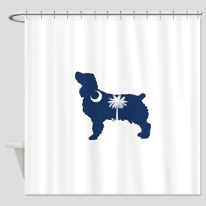 SC Boykin Spaniel Shower Curtain