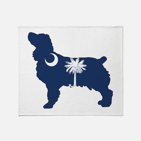 SC Boykin Spaniel Throw Blanket