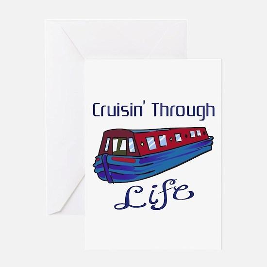 CRUISIN THROUGH LIFE Greeting Cards