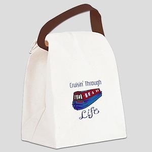 CRUISIN THROUGH LIFE Canvas Lunch Bag