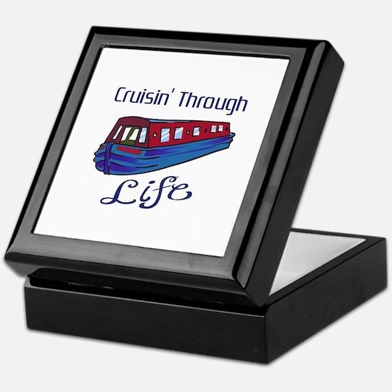 CRUISIN THROUGH LIFE Keepsake Box