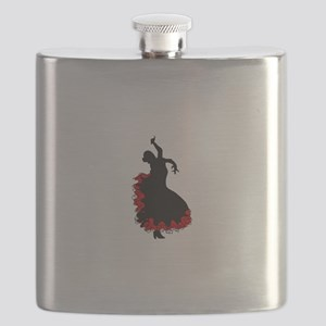 FLAMINCO DANCER Flask