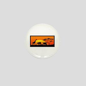 AFRICAN WILDLIFE Mini Button