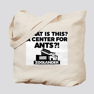 Center for Ants - Black Tote Bag
