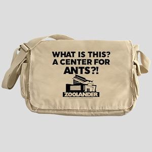 Center for Ants - Black Messenger Bag