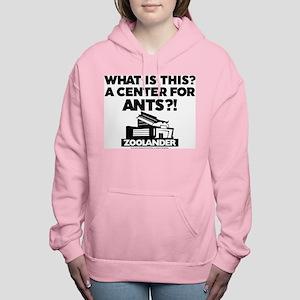 Center for Ants - Black Women's Hooded Sweatshirt