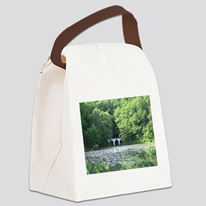 Tranquility Canvas Lunch Bag