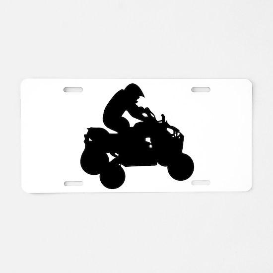 atv Aluminum License Plate
