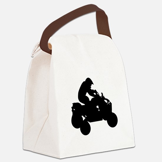 atv Canvas Lunch Bag