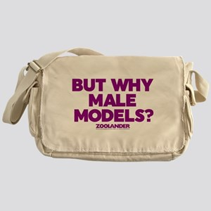But Why Male Models Messenger Bag
