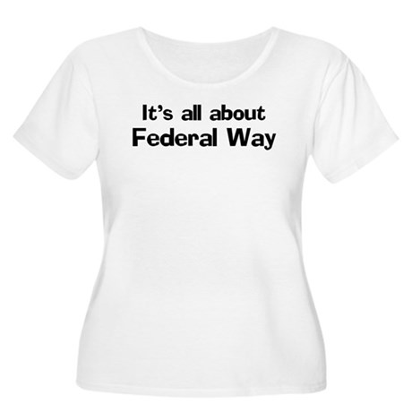 About Federal Way Women's Plus Size Scoop Neck T-S