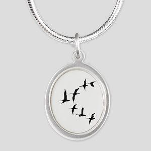 DUCKS IN FLIGHT Necklaces
