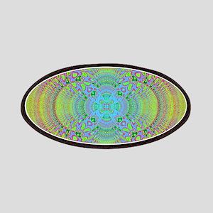 Rainbow Mandala Patch
