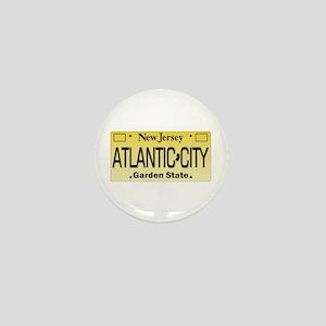 Atlantic City NJ Tag Giftware Mini Button