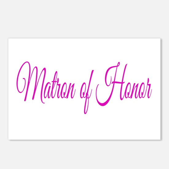 Matron of Honor Postcards (Package of 8)