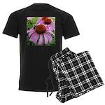 Bumblebee on Purple Illinois Coneflower Pajamas