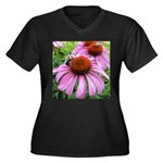 Bumblebee on Purple Illinois Coneflower Plus Size