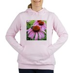Bumblebee on Purple Illinois Coneflower Women's Ho