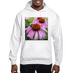 Bumblebee on Purple Illinois Coneflower Hoodie