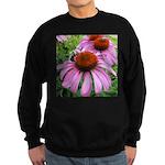 Bumblebee on Purple Illinois Coneflower Sweatshirt