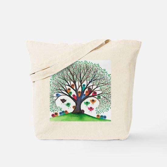 Kaibab Owls Tote Bag