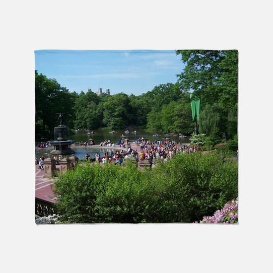 Central Park Throw Blanket