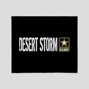 U.S. Army: Desert Storm (Black) Throw Blanket